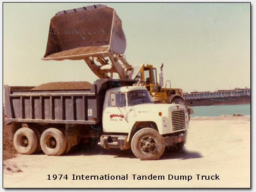 1974 Dallas Haul Dump Truck